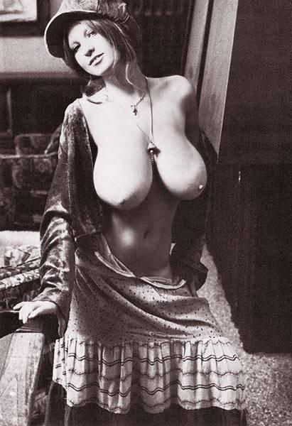 ретро фото большая грудь