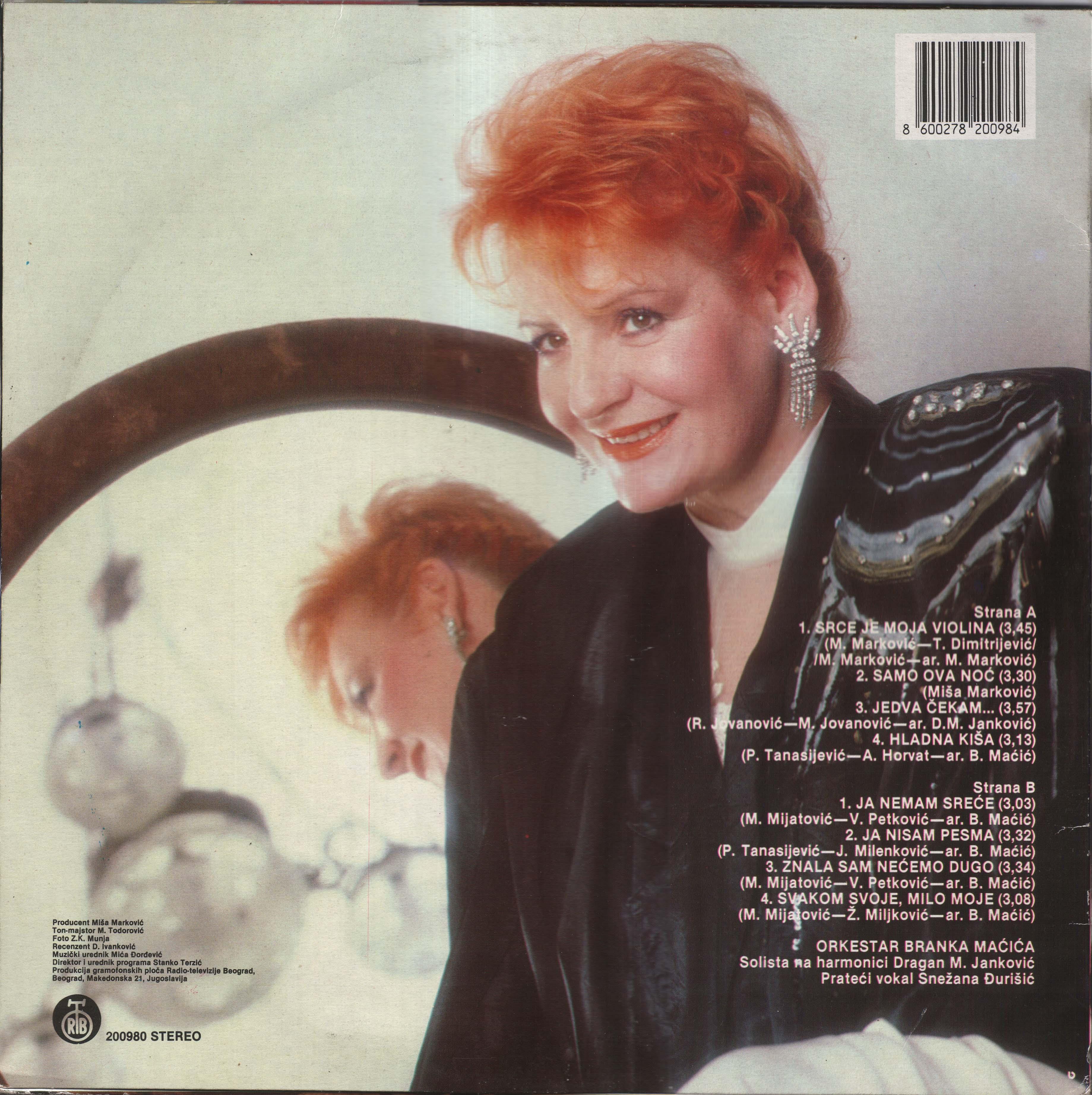 Lepa Lukic 1989 Z
