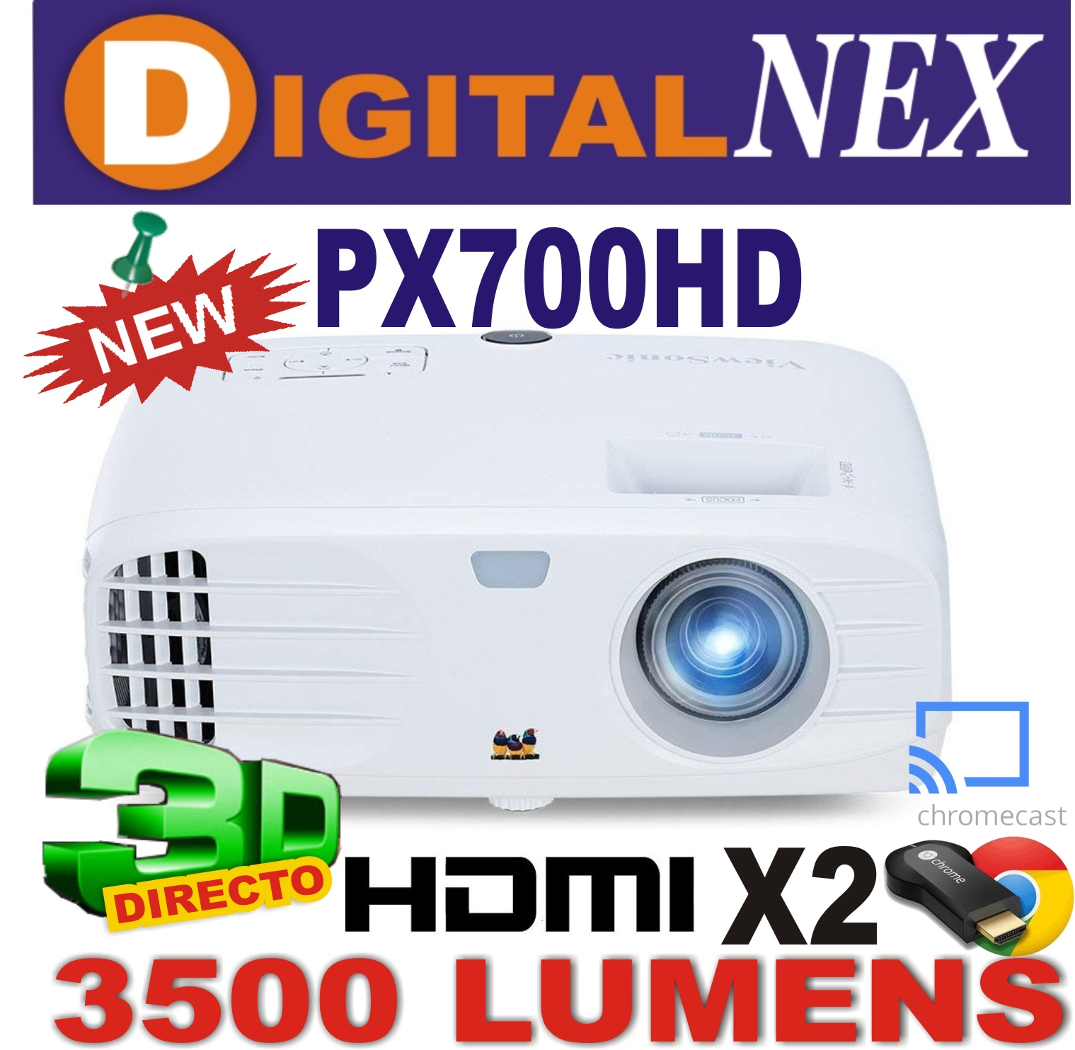 VIEWSONIC PX 700 HD ML