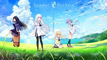 (18禁ゲーム)[180629] [Key] Summer Pockets -サマーポケッツ- 初回限定版 + 初回特典 Arrange Album + サマボケ劇場&イラスト + Region Crack