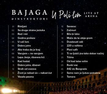 Bajaga & Instruktori 2019 - U Puli lom (Live At Arena) 40928954_Bajaga_2019-b