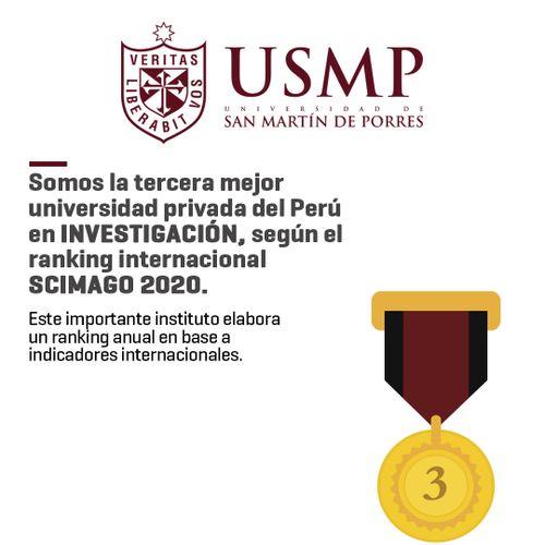 Resultado de imagen para universidad san martin ranking scimago