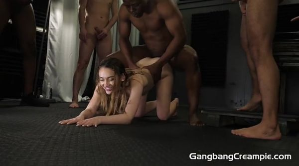 GangBangCreampie - Sera Ryder - GangBang Creampie 261 [SD 400p]