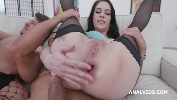 Two of a Kind 1 Anna de Ville Brittany Bardot total madness with Pee Drink, Balls Deep Anal, DAP, Fisting GIO1440
